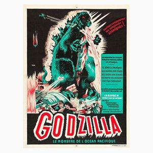 Godzilla Poster by A. Poucel, 1950s