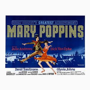 Mary Poppins Poster, 1964