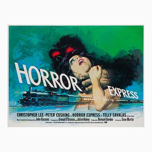 Horror Express Poster by Tom Chantrell, 1972