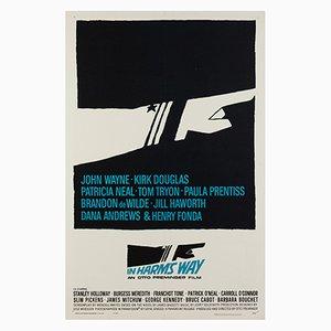 Affiche In Harm's Way par Saul Bass, 1965