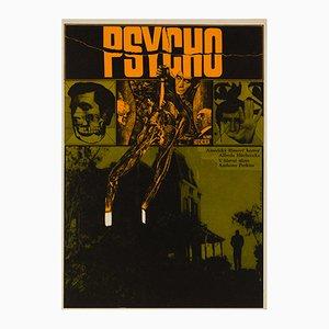 Affiche Psycho par Zdenek Ziegler, 1970