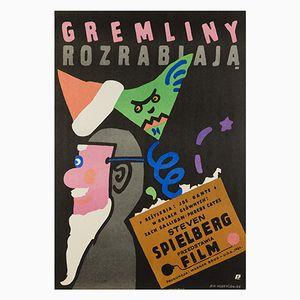 Gremlins Poster by Jan Mlodozeniec, 1985