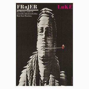 Affiche Cool Hand Luke par Milan Grygar, 1967