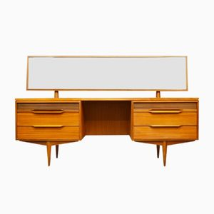 Mid-Century Teak Dressing Table from White and Newton