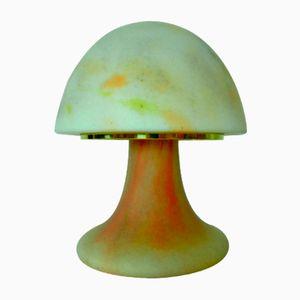 Model 6325 Mushroom Table Lamp from Glashütte Limburg, 1970s