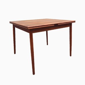Danish Mid-Century Extendable Teak Dining Table from Farstrup, 1960s