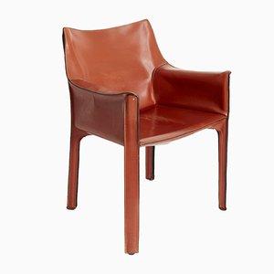 CAB 313 Stühle von Mario Bellini für Cassina, 1977, 4er Set