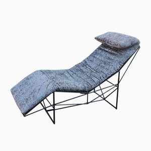 Vintage chaise lounges online shop shop vintage chaise lounges at pamono for Peindre chaise longue plastique