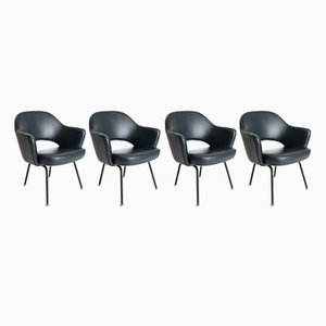 Executive Chair by Eero Saarinen for Knoll International, 1950s, Set of 4