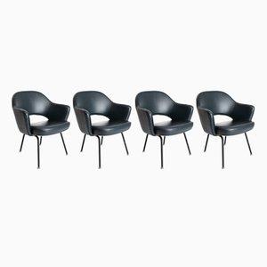 Executive Chair von Eero Saarinen für Knoll International, 1950er, 4er Set