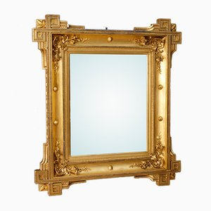 Antique French Gilded Mirror, 1870s