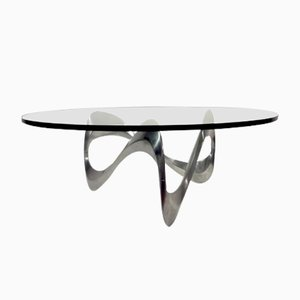 Vintage Coffee Table by Knut Hesterberg for Ronald Schmitt