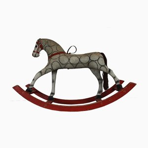 Antique French Rocking Horse