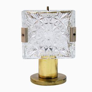 Tschechische Art Deco Stil Nachtlampe von ESC, 1960er
