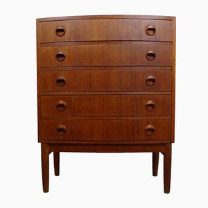 Danish Teak Chest of Drawers by Kai Kristiansen, 1960s