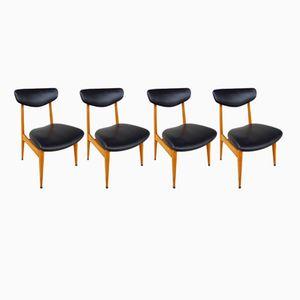 Französische Vintage Stühle, 6er Set