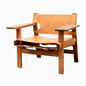 Vintage Spanish Chair by Børge Mogensen for Fredericia