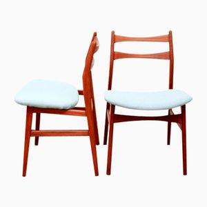 Danish Dining Chairs in Teak, 1960s, Set of 4