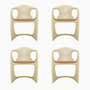 Casalino Armchairs by Alexander Begge for Casala, 1974, Set of 4