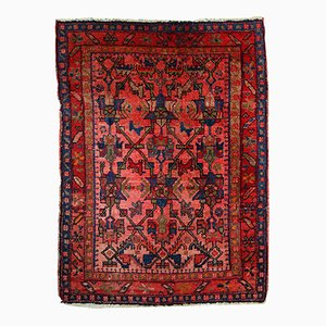 Handmade Persian Malayer Rug, 1920s