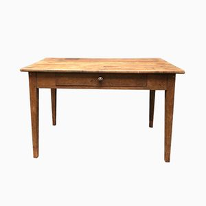 French Oak Kitchen Table, 1930s