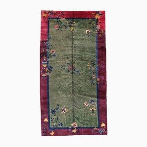 Handgeknüpfter Chinesischer Vintage Teppich