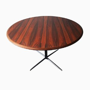 Adjustable Rosewood Dining or Coffee Table by Wilhelm Renz, 1960s