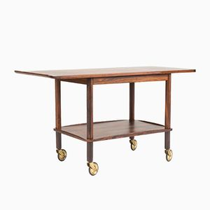 Mid-Century Rosewood Trolley by Johannes Andersen for CFC Silkeborg