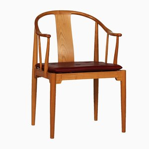 Vintage FH 4283 China Chair by Hans J. Wegner for Fritz Hansen, 1984
