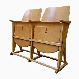 2-Seater Cinema Bench from Ton, 1960s