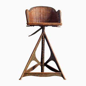 Chaise de Coiffeur pour Enfants Vintage