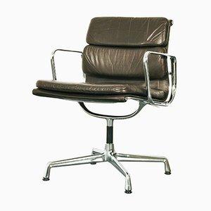 Mid-Century EA207 Soft Pad Armlehnstuhl von Charles Eames für Vitra