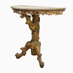 Antique Console Table, 1850s