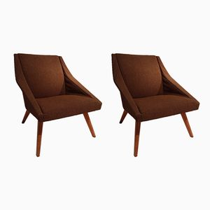 Club Chairs, 1960s, Set of 2