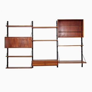 Mid-Century Royal System Wall Unit by Poul Cadovius for Cado