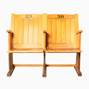 Wooden Theater Seats, 1930s