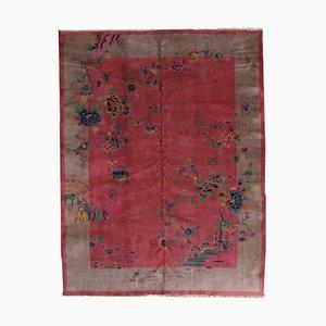 Handmade Chinese Rug, 1920s