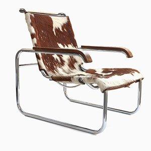 Vintage S 35 Armlehnstuhl von Marcel Breuer für Thonet