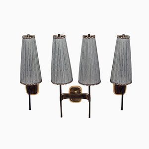 Vintage Wall Lamps by J.T. Kalmar, Set of 3