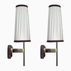 Vintage Wall Lamps by Kalmar, Set of 2