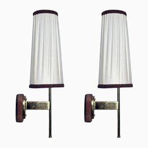 Vintage Wandlampen von Kalmar, 2er Set