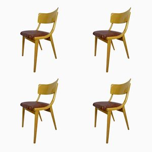 Mid-Century Chairs, 1960s, Set of 4