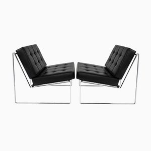 Model 024 Lounge Chairs by Kho Liang Ie for Artifort, 1962, Set of 2
