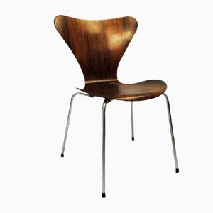 Rosewood 7-Series Chair by Arne Jacobsen for Fritz Hansen, 1960s