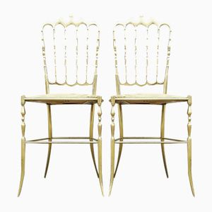 Chairs by Giuseppe Gaetano Descalzi for Chiavari Italy, 1950s, Set of 2