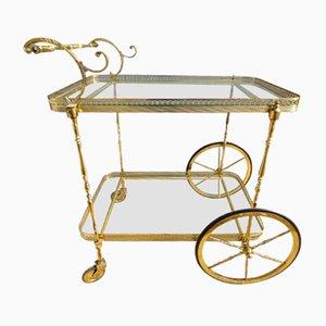 French Vintage Bar Trolley