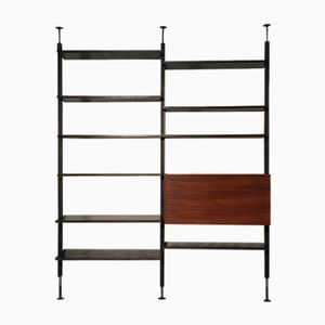 Vintage Rosewood Wall Unit by Richard Neutra for Victoria Möbel