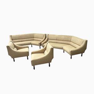 Modell 884 Wohnzimmerset von Sergio Asti für Cassina, 1960er