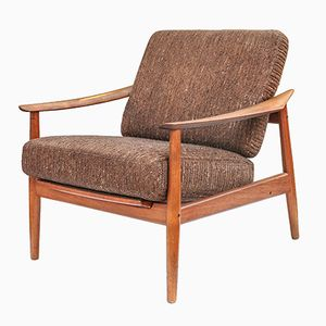 FD164 Easy Chair by Arne Vodder for France & Søn, 1960s
