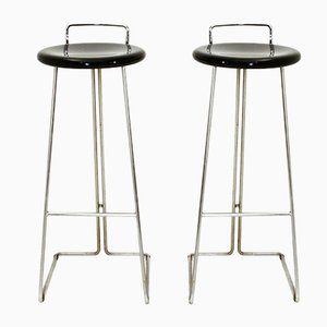 Stools by Georges Coslin for Dada, 1970s, Set of 2
